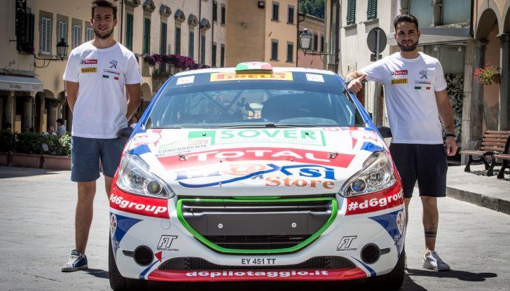 Rally Coppa Valtellina – Voce al terzetto in testa nel trofeo Peugeot Competition RALLY 208 - Foto 3 di 3