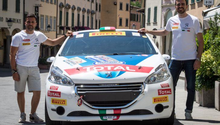 Rally Coppa Valtellina – Voce al terzetto in testa nel trofeo Peugeot Competition RALLY 208 - Foto 2 di 3