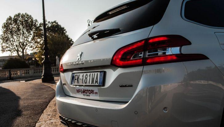 Peugeot 308 SW GT Line 2017: Prova, caratteristiche e prezzi del BlueHDI da 120CV - Foto 8 di 32