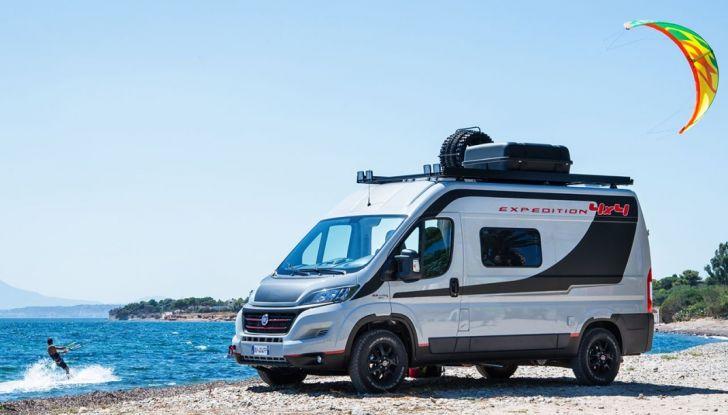 Fiat Professional Ducato 4×4 Expedition, il camper dei sogni per girare il mondo - Foto 3 di 20