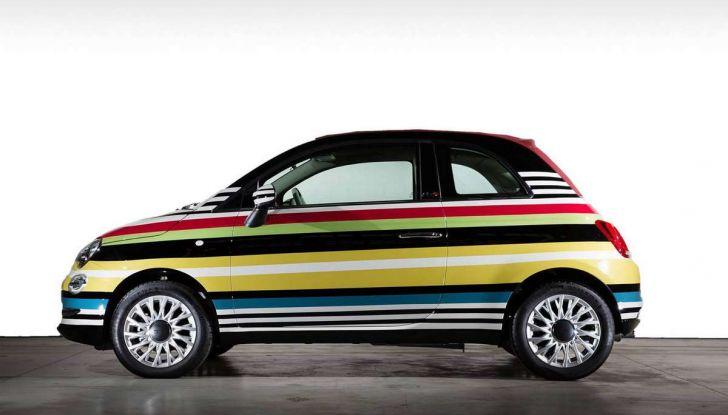 Fiat 500C Missoni by Garage Italia Customs battuta all'asta per beneficenza - Foto 3 di 6