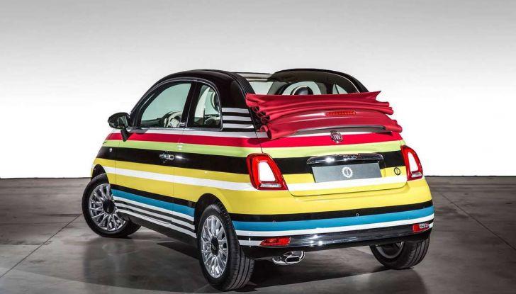 Fiat 500C Missoni by Garage Italia Customs battuta all'asta per beneficenza - Foto 2 di 6