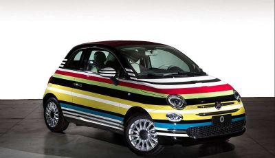 Fiat 500C Missoni by Garage Italia Customs battuta all'asta per beneficenza