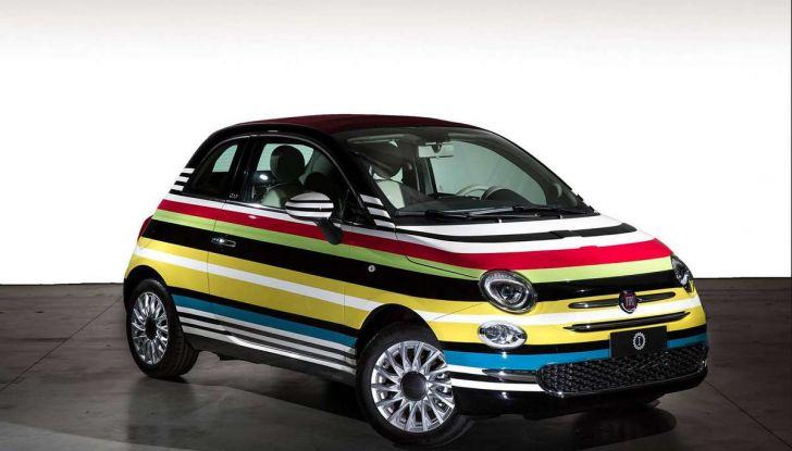 Fiat 500C Missoni by Garage Italia Customs battuta all'asta per beneficenza - Foto 1 di 6