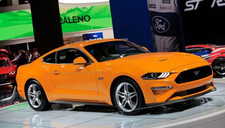 Ford Mustang Facelift 2017 - Foto 11 di 12