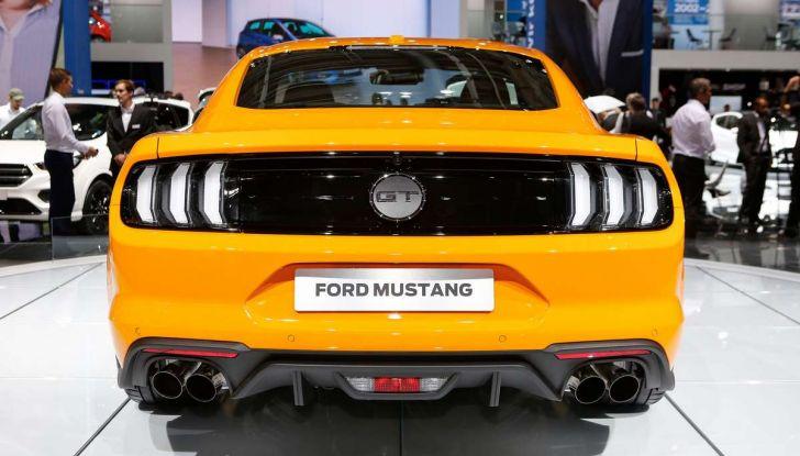 Ford Mustang Facelift 2017 - Foto 2 di 12