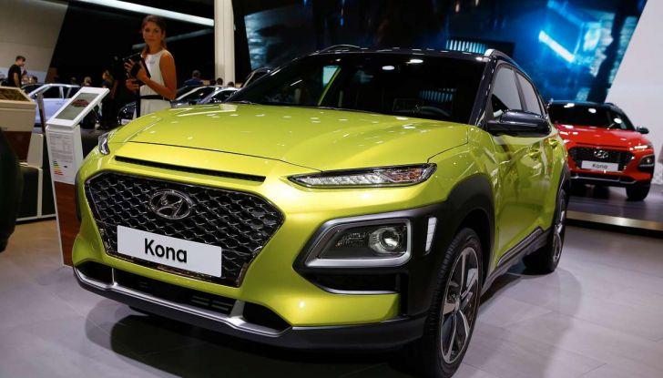 Hyundai Kona, dettagli e caratteristiche del nuovo SUV - Foto 14 di 20