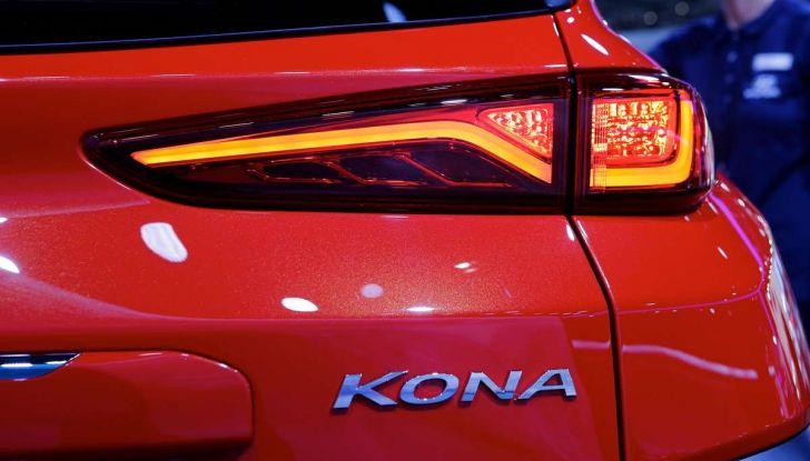 Hyundai Kona, dettagli e caratteristiche del nuovo SUV - Foto 5 di 20