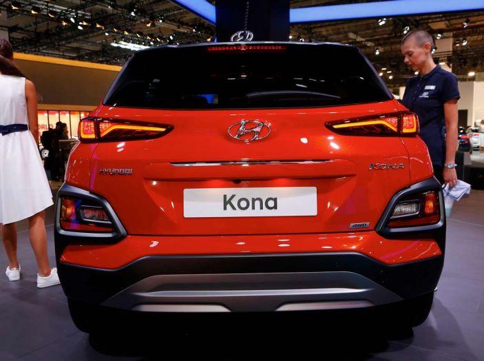 Hyundai Kona, dettagli e caratteristiche del nuovo SUV - Foto 9 di 20