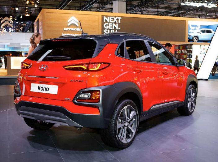 Hyundai Kona, dettagli e caratteristiche del nuovo SUV - Foto 11 di 20