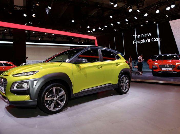 Hyundai Kona, dettagli e caratteristiche del nuovo SUV - Foto 15 di 20