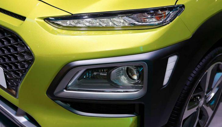 Hyundai Kona, dettagli e caratteristiche del nuovo SUV - Foto 20 di 20