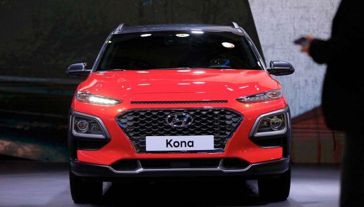 Hyundai Kona, dettagli e caratteristiche del nuovo SUV - Foto 12 di 20