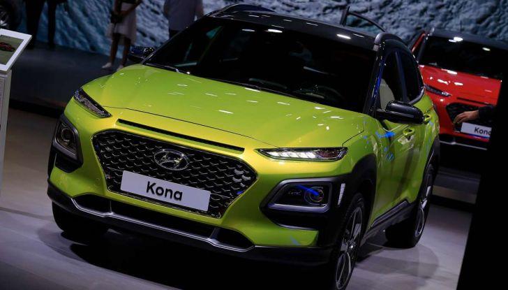 Hyundai Kona, dettagli e caratteristiche del nuovo SUV - Foto 16 di 20