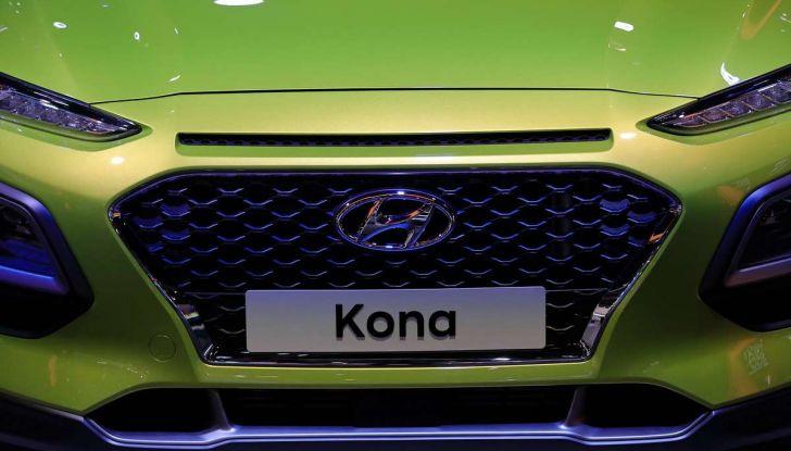 Hyundai Kona, dettagli e caratteristiche del nuovo SUV - Foto 17 di 20