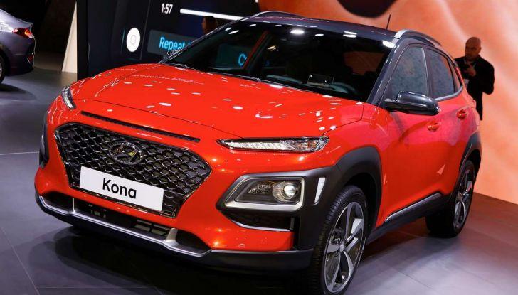 Hyundai Kona, dettagli e caratteristiche del nuovo SUV - Foto 1 di 20