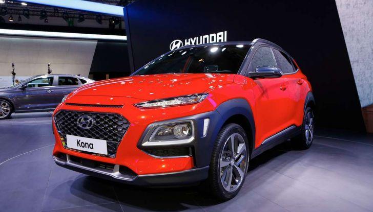 Hyundai Kona, dettagli e caratteristiche del nuovo SUV - Foto 7 di 20