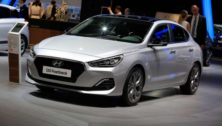 Hyundai i30 Fastback, la nuova coupè a 5 porte - Foto 13 di 13