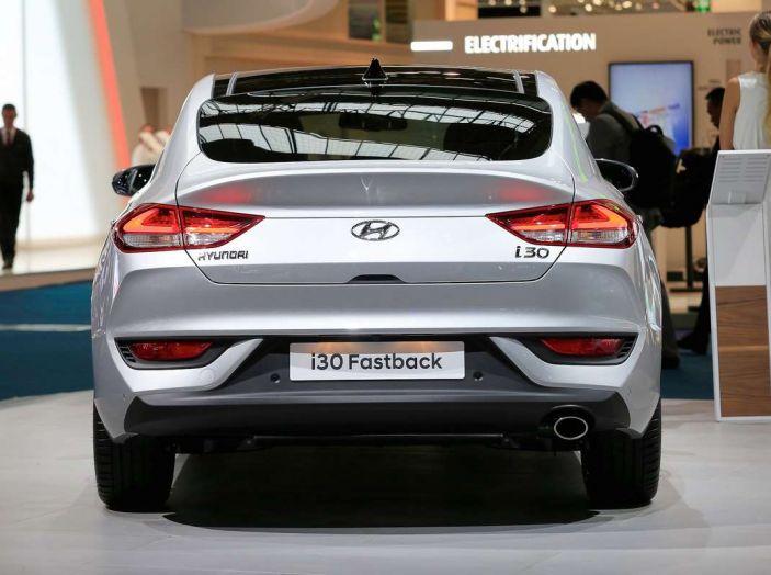 Hyundai i30 Fastback, la nuova coupè a 5 porte - Foto 5 di 13