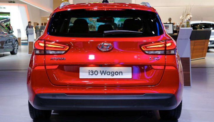 Nuova Hyundai i30 Wagon la familiare segmento C si rinnova - Foto 4 di 11