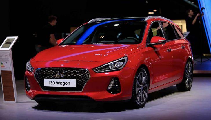 Nuova Hyundai i30 Wagon la familiare segmento C si rinnova - Foto 9 di 11