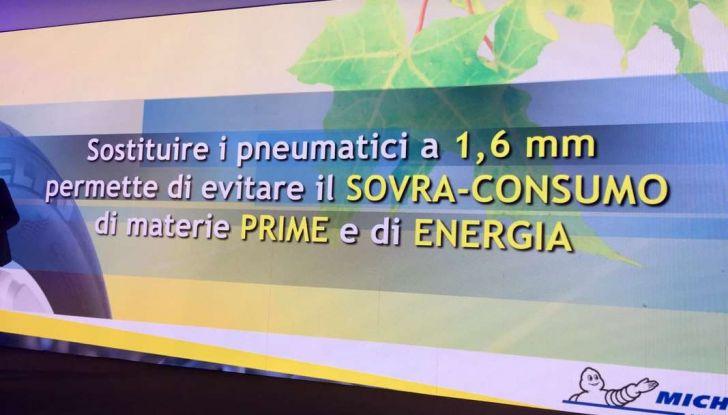 Perchè 1.4 millimetri di un pneumatico auto possono far risparmiare miliardi di euro senza problemi di sicurezza? - Foto 24 di 30