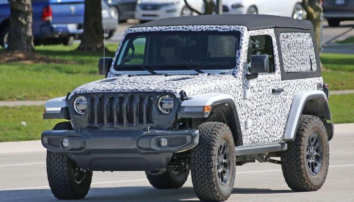 Jeep Wrangler, la nuova generazione sorpresa durante i collaudi - Foto 1 di 21