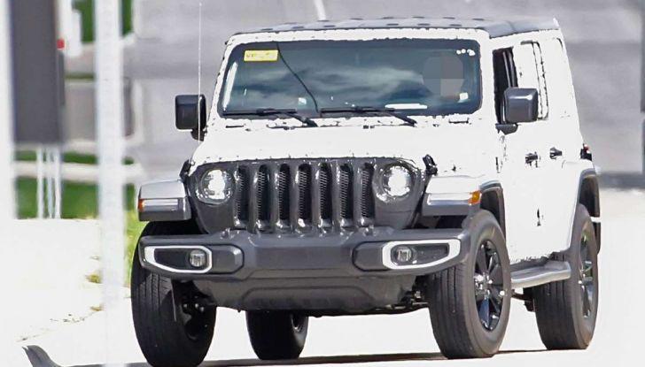 Jeep Wrangler MY2018, prime immagini spia - Foto 20 di 22