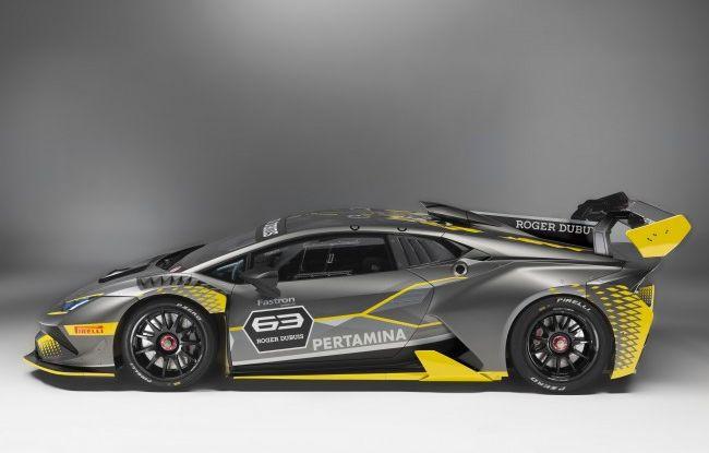 Lamborghini Huracán Super Trofeo EVO debutta con livrea Roger Dubuis - Foto 3 di 10