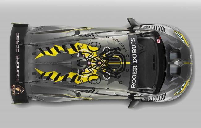 Lamborghini Huracán Super Trofeo EVO debutta con livrea Roger Dubuis - Foto 5 di 10