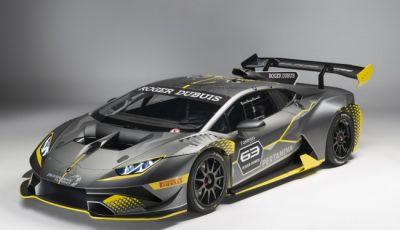 Lamborghini Huracán Super Trofeo EVO debutta con livrea Roger Dubuis