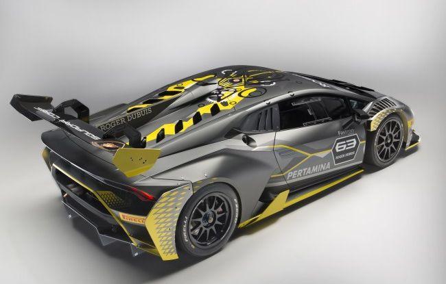 Lamborghini Huracán Super Trofeo EVO debutta con livrea Roger Dubuis - Foto 9 di 10