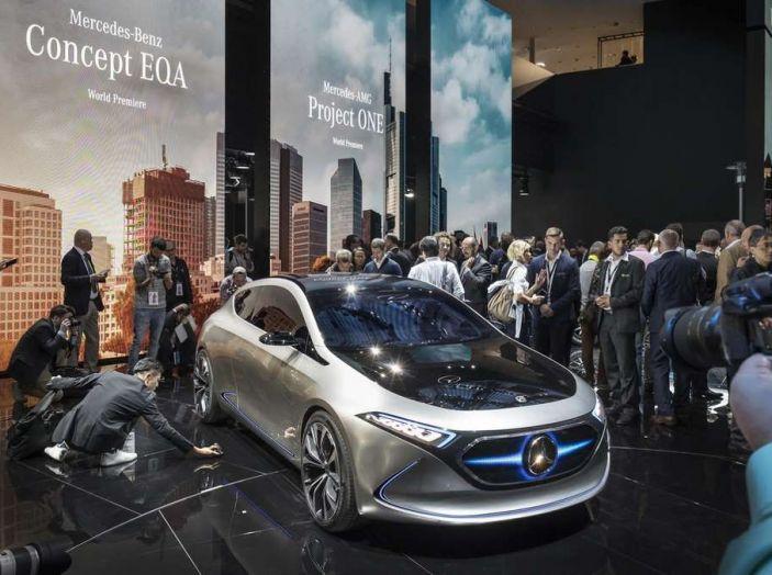 Le 5 auto elettriche più innovative del Salone di Francoforte 2017