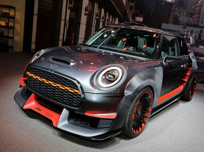 MINI John Cooper Works GP Concept al Salone di Francoforte 2017