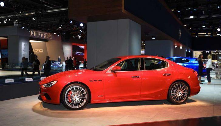 Maserati Ghibli Facelift 2018, prime foto e dettagli - Foto 5 di 13