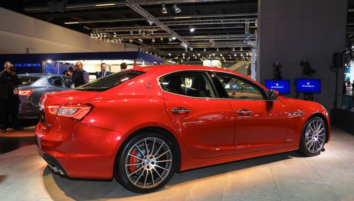 Maserati Ghibli Facelift 2018, prime foto e dettagli - Foto 6 di 13