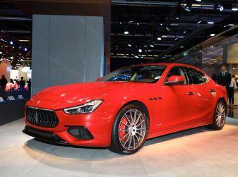 Maserati Ghibli Facelift 2018, prime foto spia e dettagli