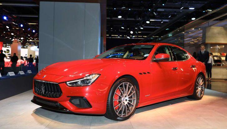 Maserati Ghibli Facelift 2018, prime foto e dettagli - Foto 1 di 13