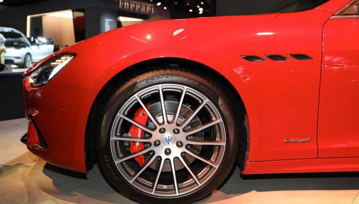 Maserati Ghibli Facelift 2018, prime foto e dettagli - Foto 3 di 13