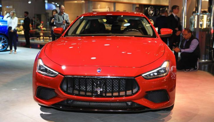 Maserati Ghibli Facelift 2018, prime foto e dettagli - Foto 9 di 13
