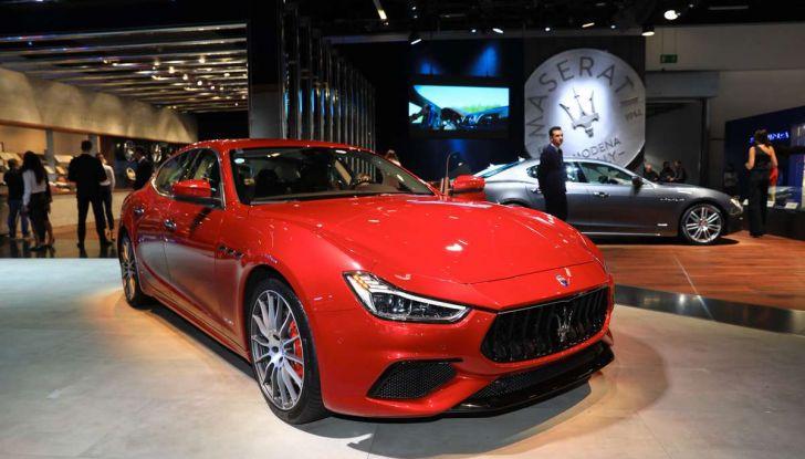 Maserati Ghibli Facelift 2018, prime foto e dettagli - Foto 4 di 13
