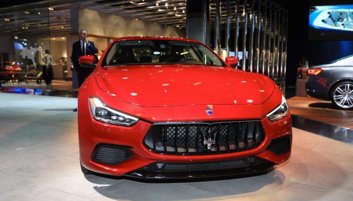 Maserati Ghibli Facelift 2018, prime foto e dettagli - Foto 10 di 13