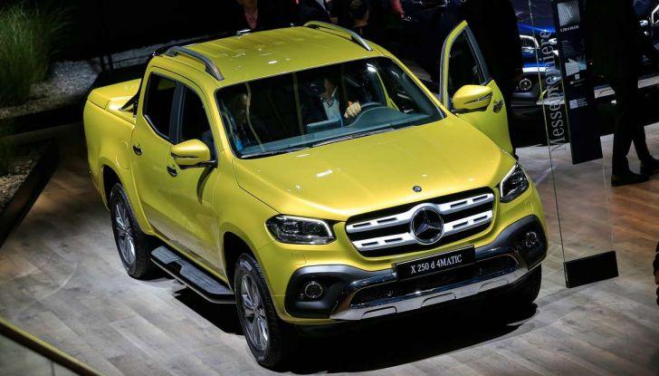 Mercedes Classe X, dettagli e informazioni del nuovo pick-up tedesco - Foto 1 di 21
