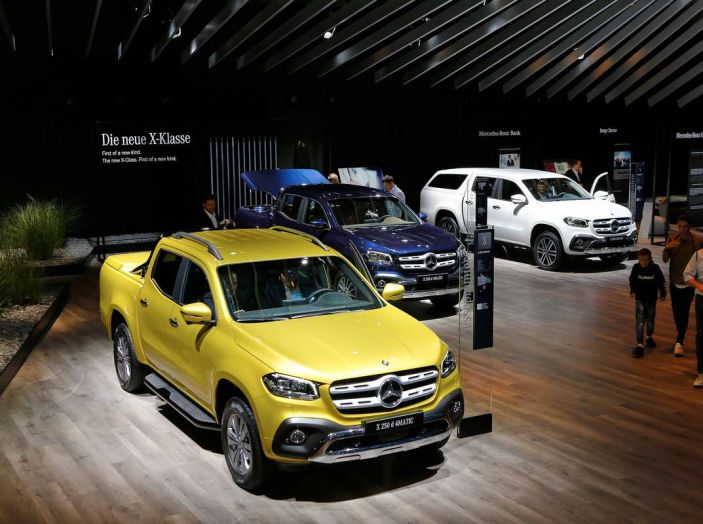 Mercedes Classe X, dettagli e informazioni del nuovo pick-up tedesco - Foto 9 di 21