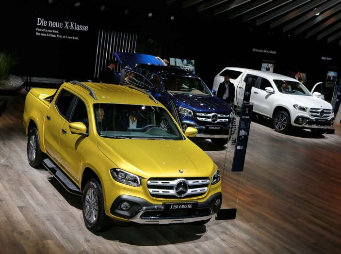 Mercedes Classe X, dettagli e informazioni del nuovo pick-up tedesco - Foto 6 di 21
