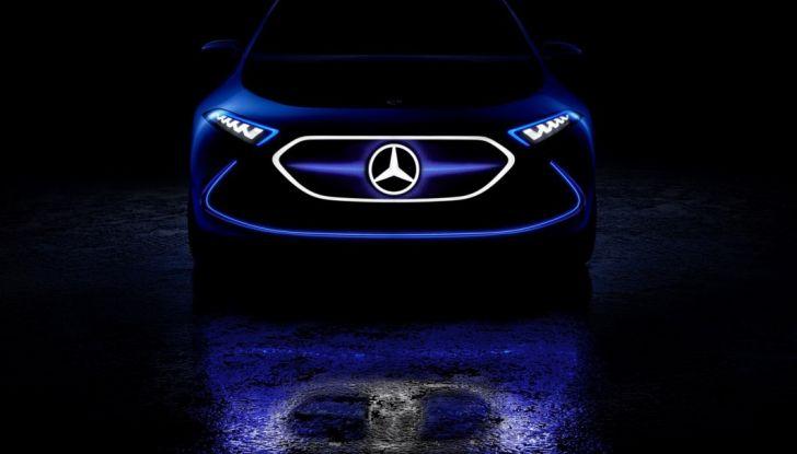 Mercedes EQ A Concept al Salone di Francoforte 2017 - Foto 1 di 8