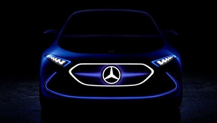 Mercedes EQ A Concept al Salone di Francoforte 2017 - Foto 8 di 8