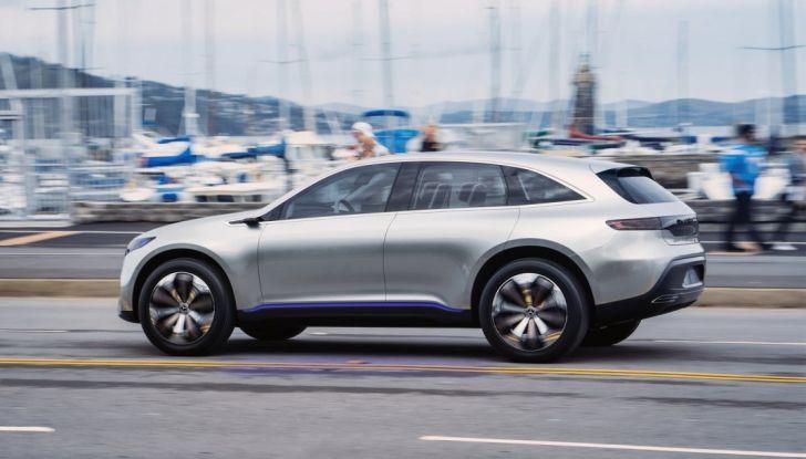 Mercedes EQ A Concept al Salone di Francoforte 2017 - Foto 3 di 8