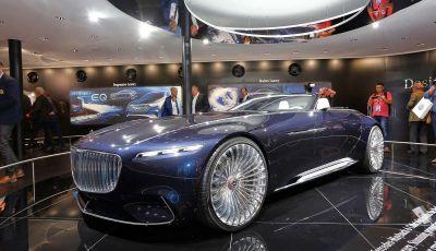 Mercedes presenta la nuova Maybach Vision 6 Cabriolet