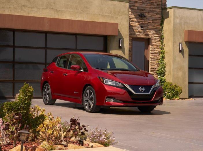 Nissan LEAF 2018: caratteristiche, autonomia e prezzi - Foto 23 di 26